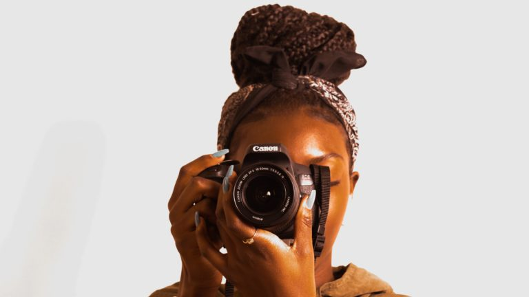 the art of using dslr camera with precision by a photographer